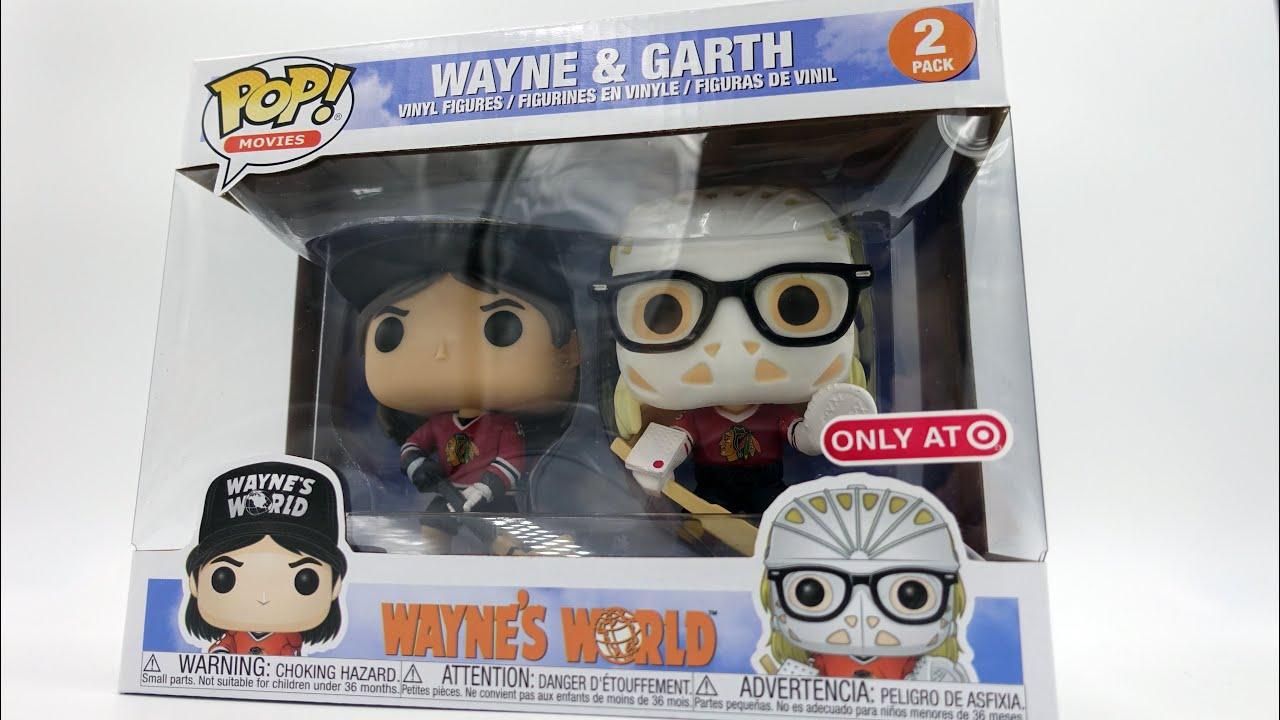 Funko Pop Vinyl Target Exclusive Wayne/'s World Wayne /& Garth Hockey 2 Pack