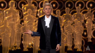 Repeat youtube video Ellen DeGeneres' 86th Oscars Opening