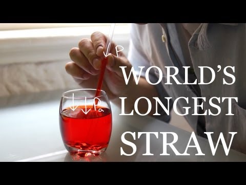 Thumbnail: World's Longest Vertical Straw