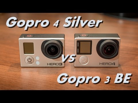 Gopro Hero 4 Silver VS Gopro Hero 3 BE