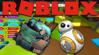 How to get Space Battle Helmet and BB-8 in Roblox Event Space Battle 2017 Star Wars