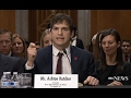 Ashton Kutcher Speech on Human Trafficking Before Congress  | ABC News