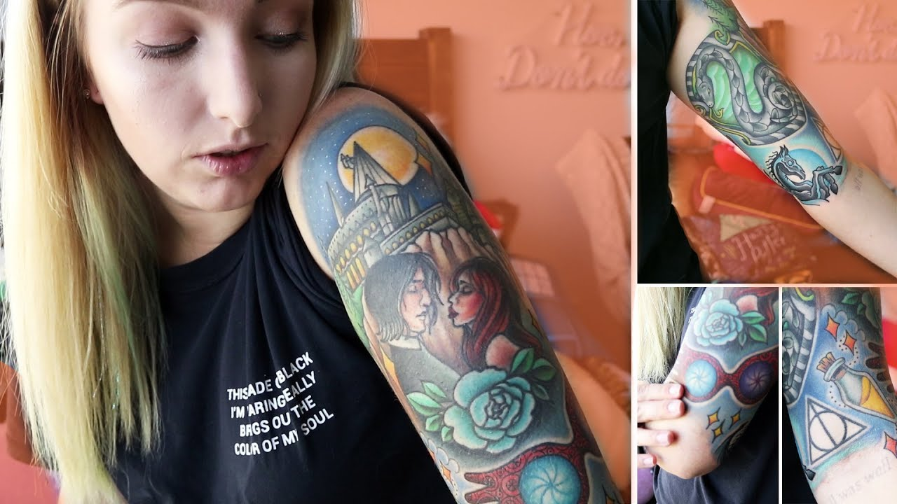 My Harry Potter Sleeve Other Tattoos Tattoo Tour 2018