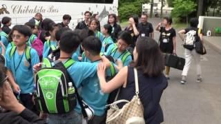 20160608日本國際管樂教育交流第二天(下午)向台小学校交流(到達學校進會場)