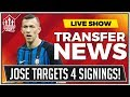 MOURINHO Demands 4 Man Utd Transfers! Man Utd News