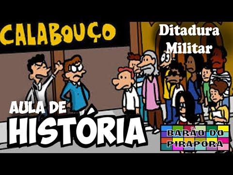 Aprendendo com Videoaulas:História: Ditadura Militar