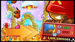 CAN I DEFEAT MY BEST PLAYER OPPONENT EVER!? - Bloons TD Battles! BFB Colosseum 50,000 MEDALLIONS!