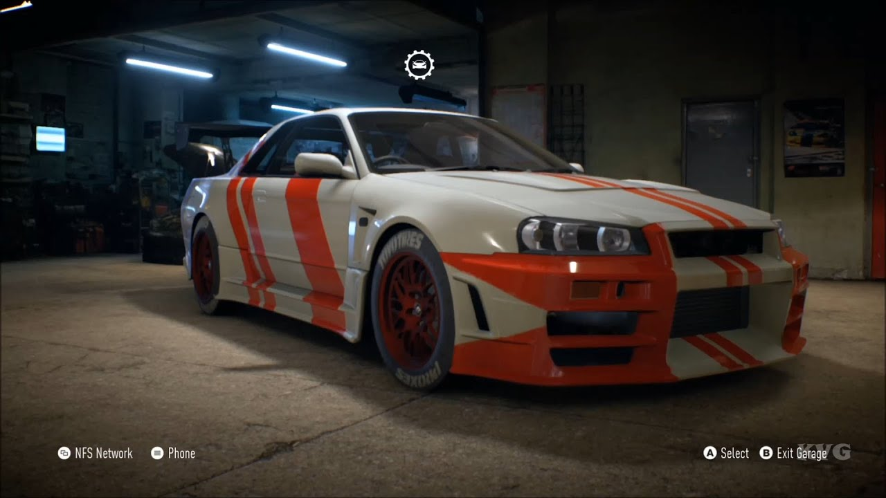 need for speed 2015 - nissan skyline gt-r v-spec 1993 - customize