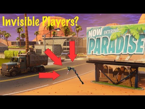 Invisible Players In Fortnite??