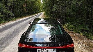 Новая Audi А7 2018 обзор