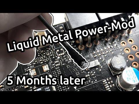 Liquid Metal GPU Power-Mod - 5 Months later? - YouTube