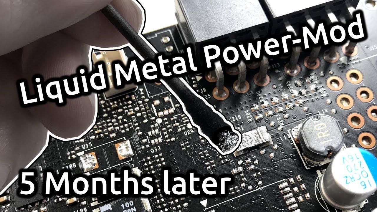 Liquid Metal GPU Power-Mod - 5 Months later?