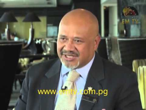 OBG discusses Tourism in PNG with Grand Papua Hotel GM Alex Wilson on 'OBG Corner', EMTV