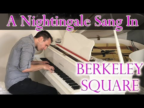 A Nightingale Sang in Berkeley Square - Jazz/Stride Piano | Jonny May