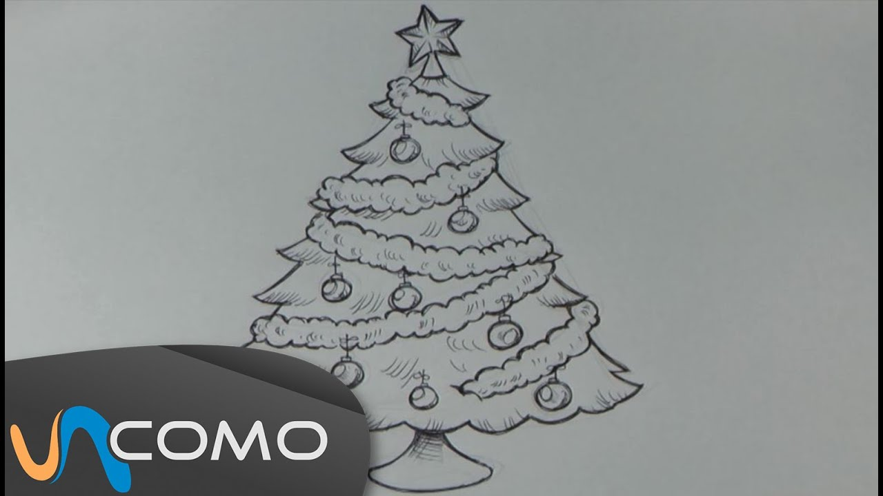 Dibujar rbol de navidad youtube - Dibujos de arboles de navidad ...