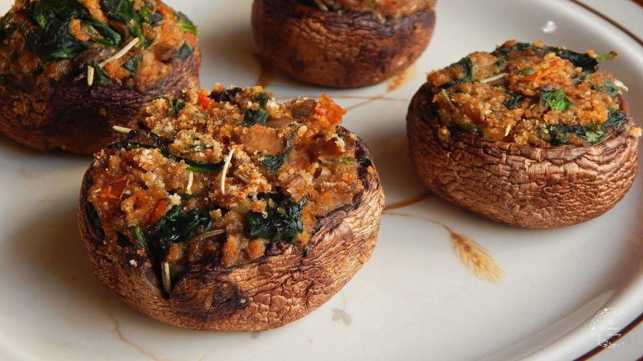 Easy Stuffed Mushrooms Recipe | Side Dish Recipes | The Sweetest ...