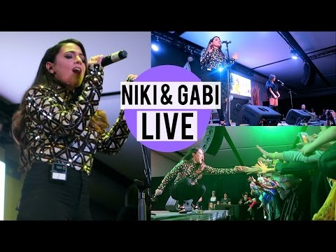 Niki and Gabi at iPlay America! Live Performance and Q&A!