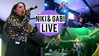 Niki and Gabi at iPlay America! Live Performance and Q&A!
