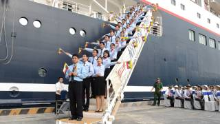 40th SSEAYP 2013 - MyPY (Myanmar) - Flag cheer