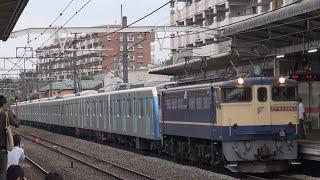 西武40000系(40157F) 甲種輸送 西国分寺駅通過