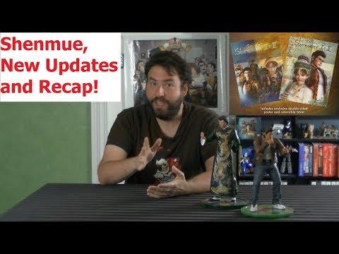 Shenmue I & II Rerelease Updates (Plus New Trailer!) - Adam Koralik