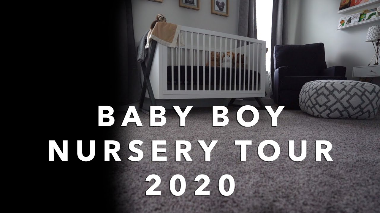 BABY BOY NURSERY TOUR // VLOG EP. 153 - YouTube
