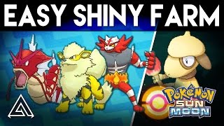 Pokemon Sun and Moon | How to Easily Farm Shiny Pokemon