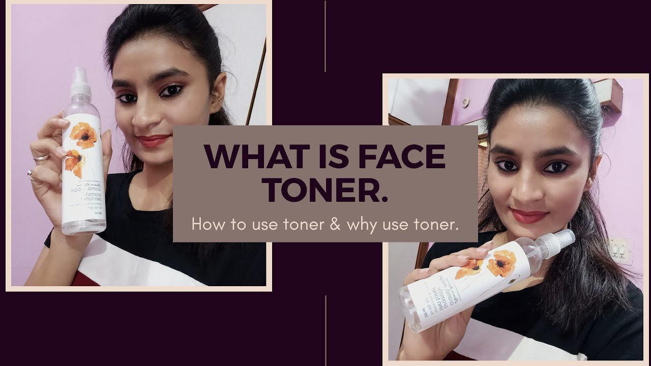 Facial toner is used for
