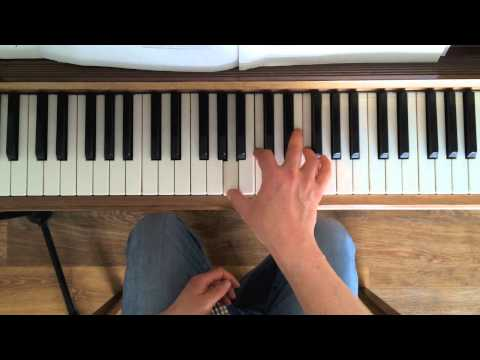 How to play smooth right hand chords