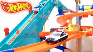 ホットウィール メガ・サービスステーションを開封紹介⭐️Hot Wheels Mega · Service Station Kids Toy thumbnail