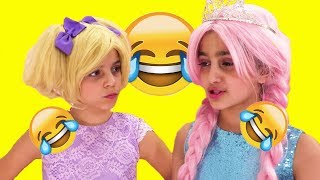 Try Not To Laugh Challenge and more Kiddyzuzaa 👑 Princesses in Real Life