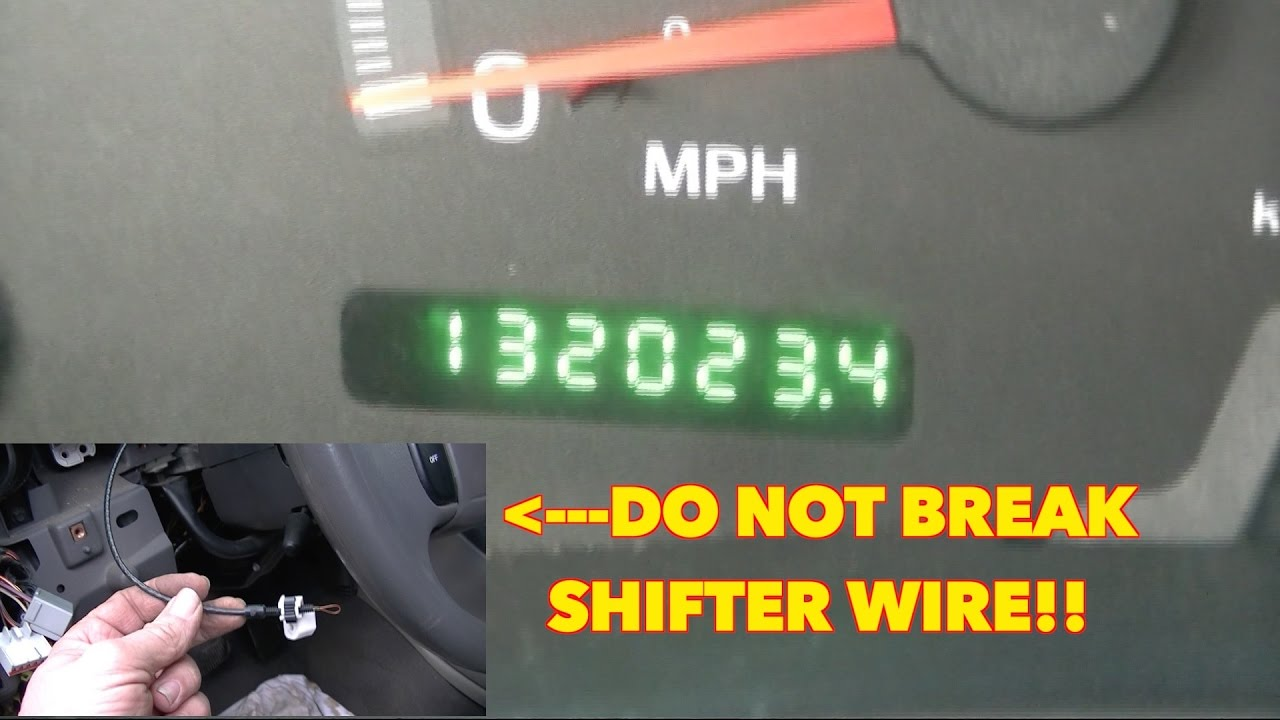 hight resolution of ford odometer blinking on off on off on off with selector wire fix it for 8 99