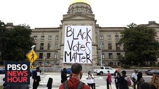 Georgia's new election legislation highlights stark divide on voting access