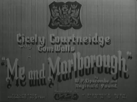 Me And Marlborough [1935]