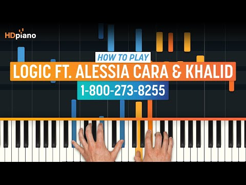 "How To Play ""1-800-273-8255"" by Logic ft. Alessia Cara & Khalid 