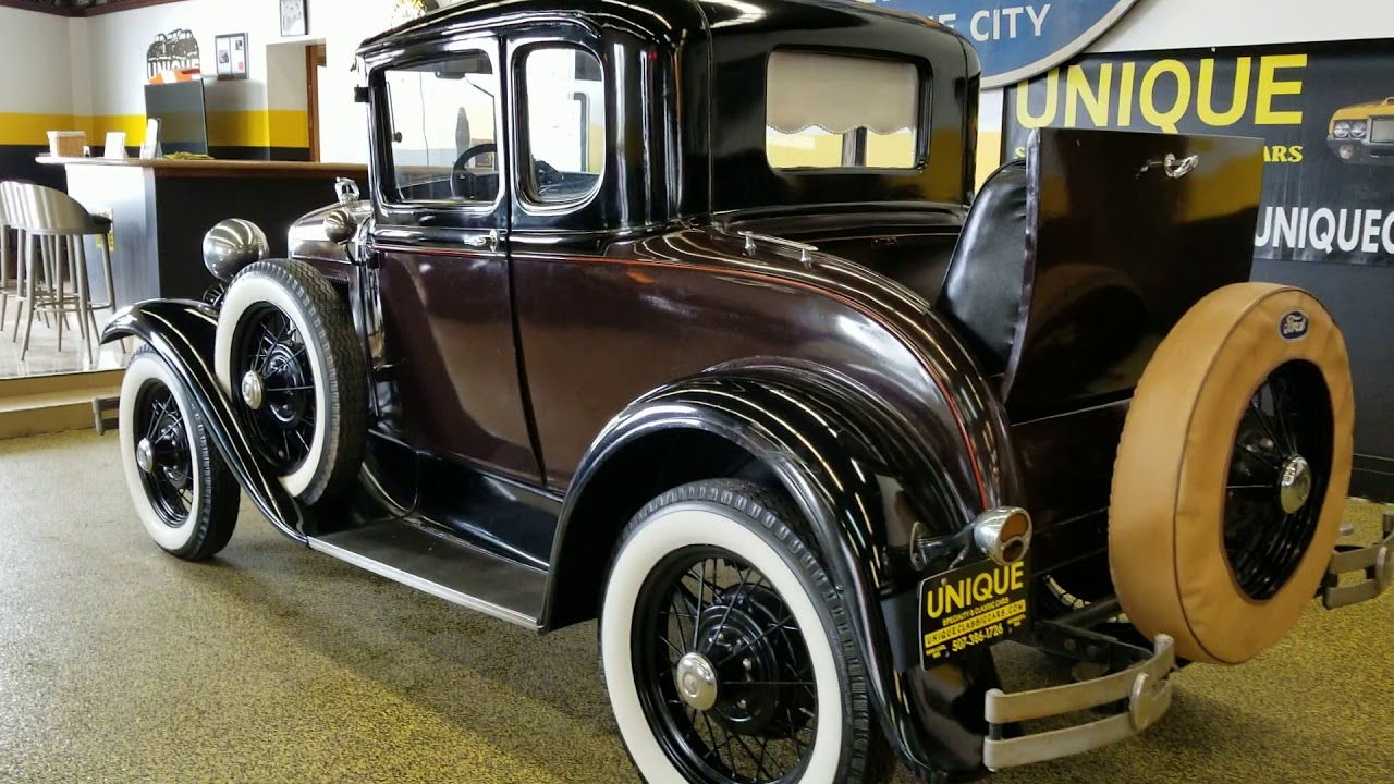 1931 Ford Model A Coupe With Rumble Seat For Sale