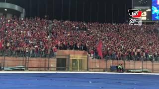 بعد الفوز علي هورويا.. جماهير الأهلي تهتف للاعبين: «سوبر إية ياعم كأس أفريقيا أهم»