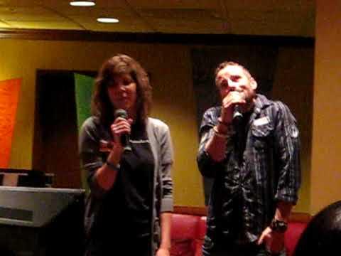 Ryan Robbins Does Karaoke