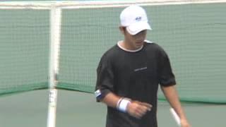AIG OPEN 2007 1回戦 寺地貴弘 VS ルカ・グレゴルツ
