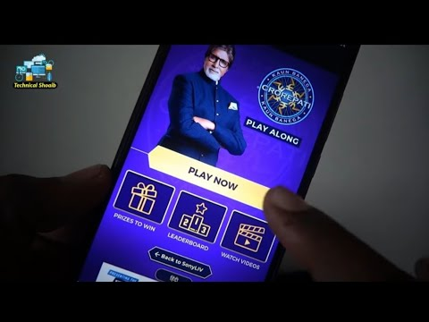 How To Play KBC Play Along On Mobile Sony Liv App In Hindi
