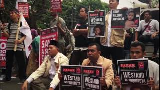 Rally demands revocation of Aung San Suu Kyi's Nobel Peace Prize