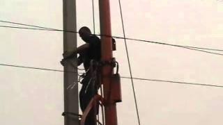 Ta'mirlash chiziq OAT 6 kV '' NIZHNOVELEKTROSETREMONT ''