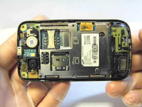 Sostituzione vetro touchscreen Samsung GT-S5600