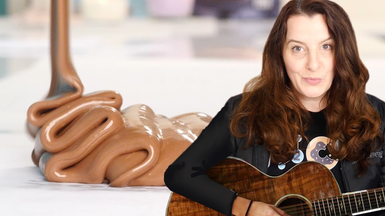 World's First Chocolate Picasso Guitar Sculpture | How To Cook That Ann Reardon