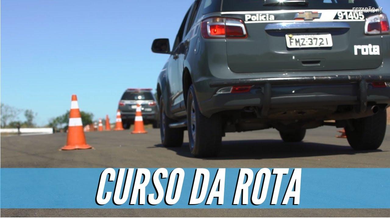 Fizemos o curso de motorista da Rota, a tropa de elite da PM paulista