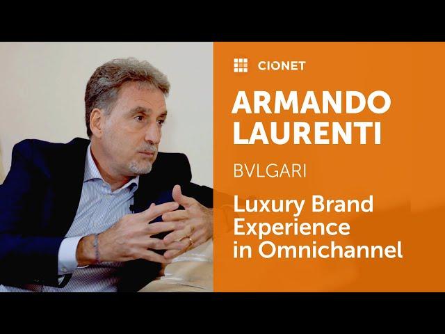 Armando Laurenti – CIO of Bulgari – Leadership Deep Dive part 1