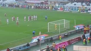 Torino-Atalanta 1-0 Cerci calcia il rigore