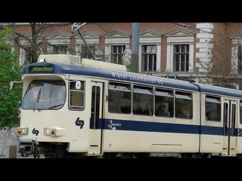 Vienna Tramway  \ Old and New Tram in Wien \ Wiener Lokalbahnen AG