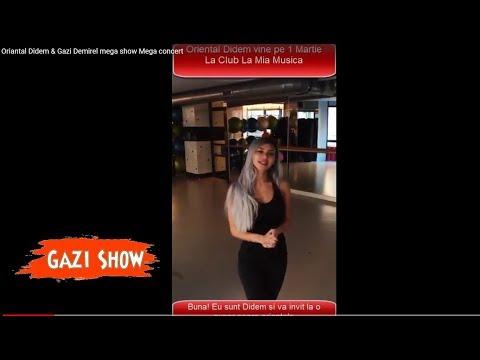 Oriantal Didem & Gazi Demirel mega show Mega concert