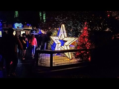 Six Flags Over Texas Holiday in the Park 2016